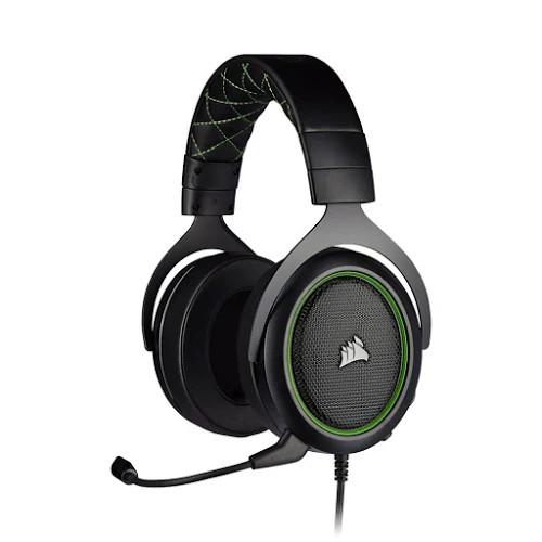 Tai nghe Corsair HS50 PRO Stereo Green (CA-9011216-AP)