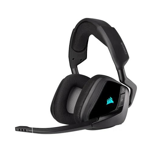 Tai nghe chơi game không dây Corsair VOID RGB ELITE 7.1 Carbon (CA-9011201-AP)