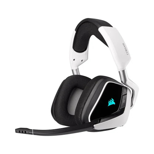 Tai nghe chơi game không dây Corsair VOID RGB ELITE 7.1 White (CA-9011202-AP)