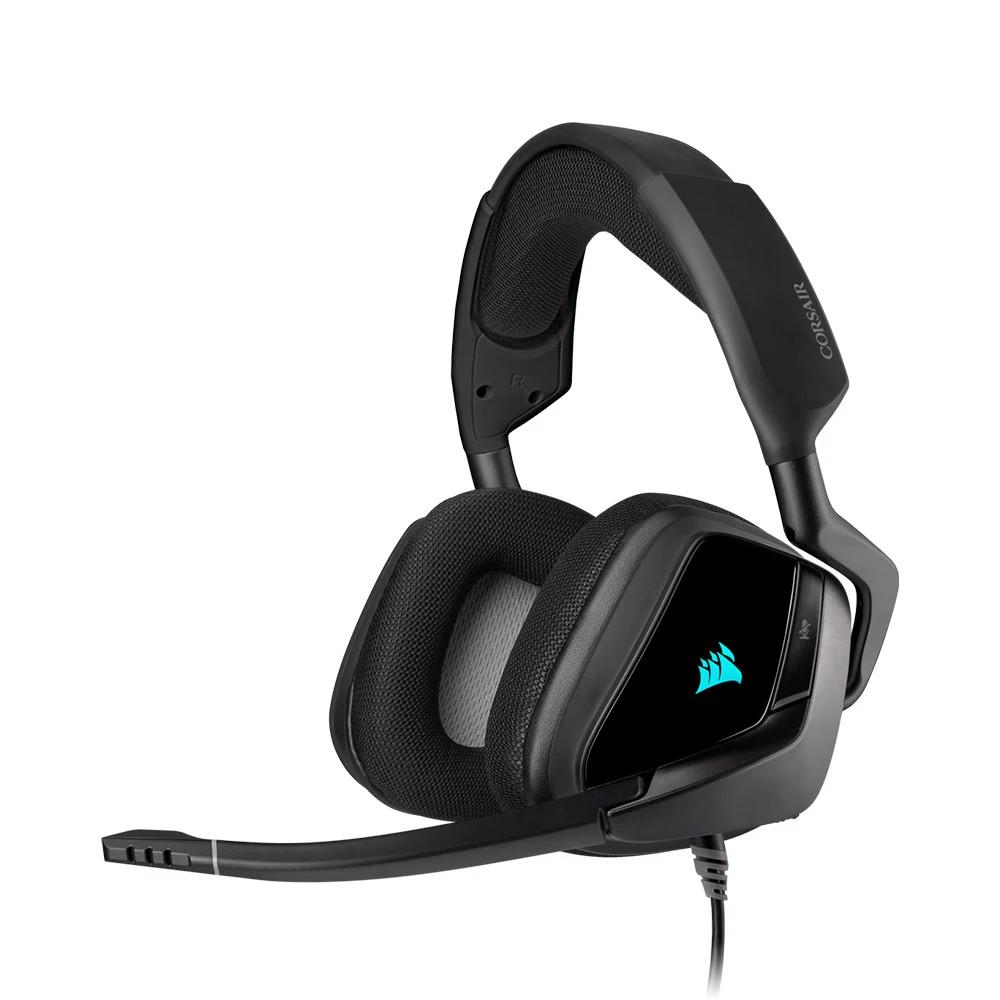 Tai nghe chơi game Corsair VOID RGB ELITE USB 7.1 Carbon (CA-9011203-AP)