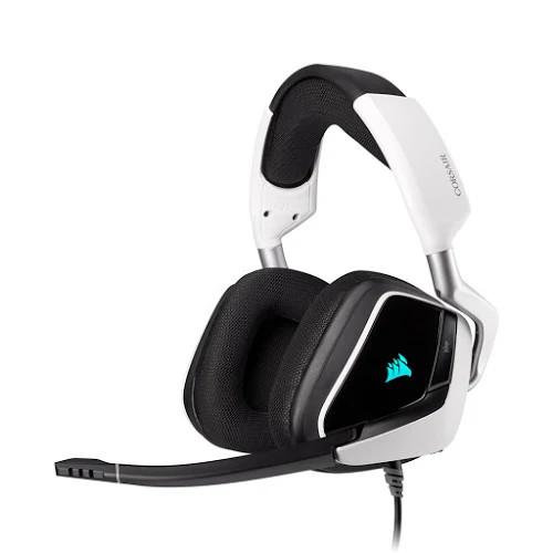 Tai nghe chơi game Corsair VOID RGB ELITE USB 7.1 White (CA-9011204-AP)