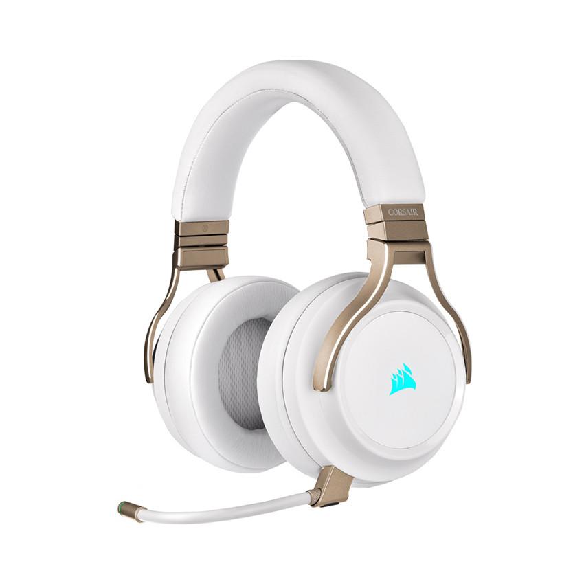 Tai nghe không dây Corsair Virtuoso RGB Pearl - CA-9011224-AP