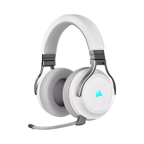Tai nghe không dây Gaming Corsair Virtuoso RGB White (CA-9011186-AP)