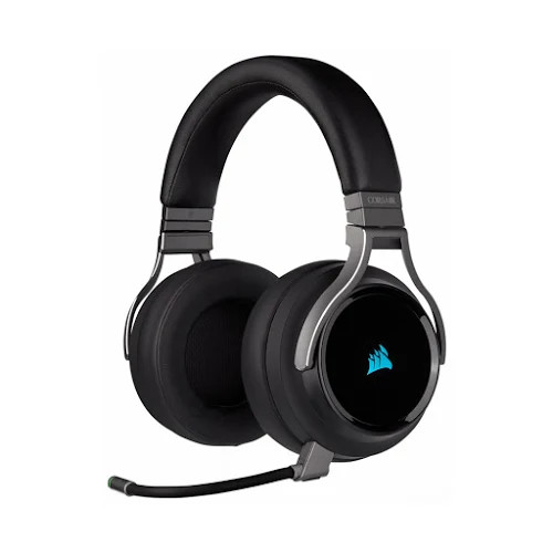Tai nghe không dây Gaming Corsair Virtuoso RGB Carbon (CA-9011185-AP)