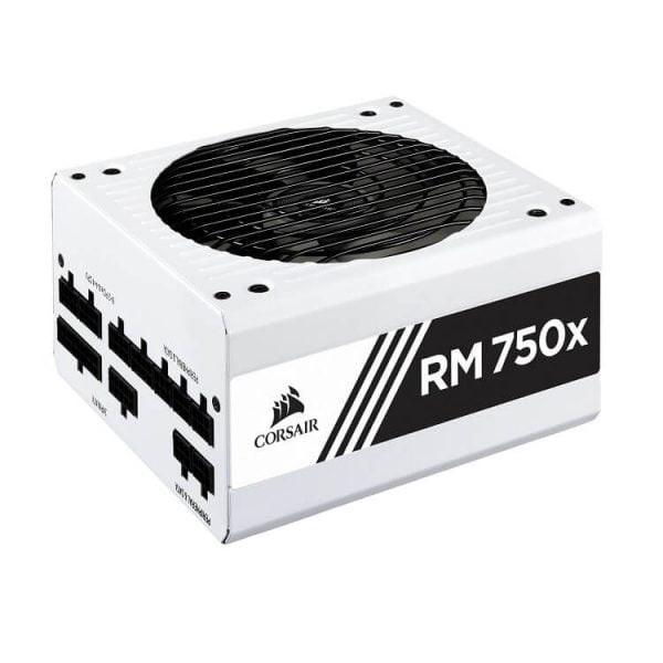 Nguồn máy tính Corsair RM750x  80 Plus Gold - Full Modul - Màu trắng