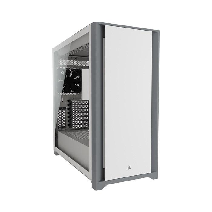 Vỏ case Corsair 5000D TG White (CC-9011209-WW)