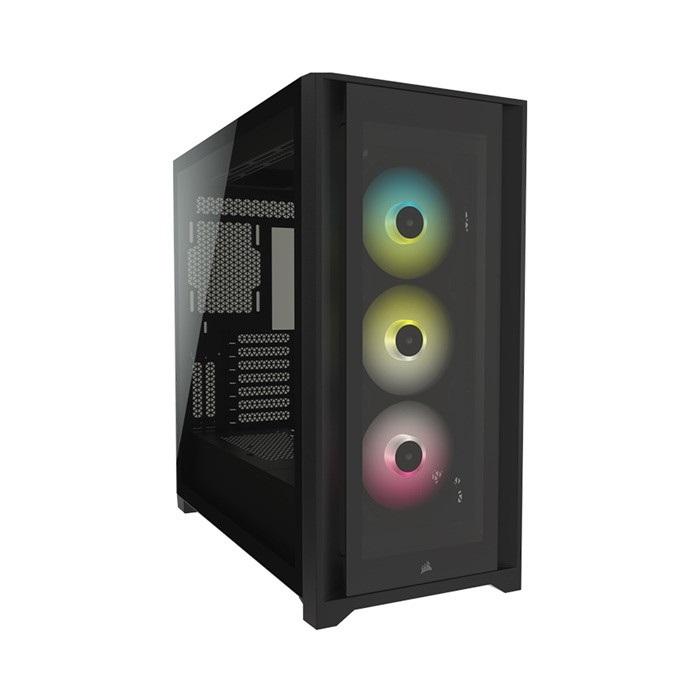 Vỏ máy tính Corsair iCUE 5000X RGB TG Black - NEW - CC-9011212-WW