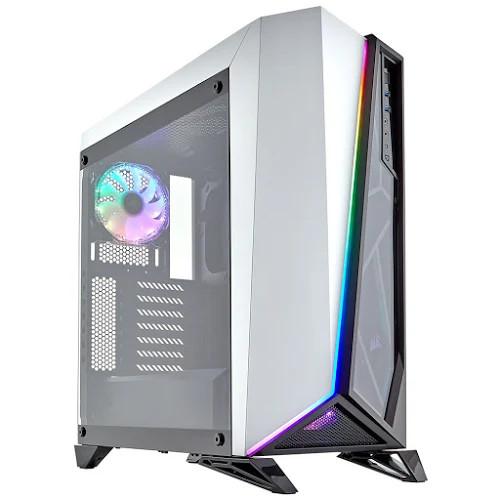Vỏ máy tính kính cường lực Corsair SPEC-OMEGA RGB White - CC-9011141-WW