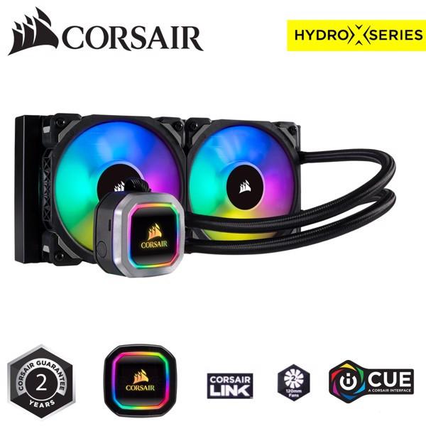 Tản nhiệt nước Corsair Hydro Series  H100i RGB PLATINUM - CW-9060039-WW