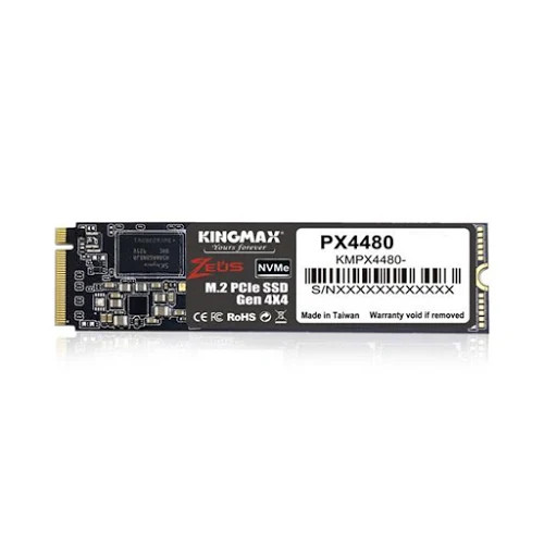 SSD Kingmax Zeus PX4480 500GB M.2 PCIe NVMe - Gen4x4