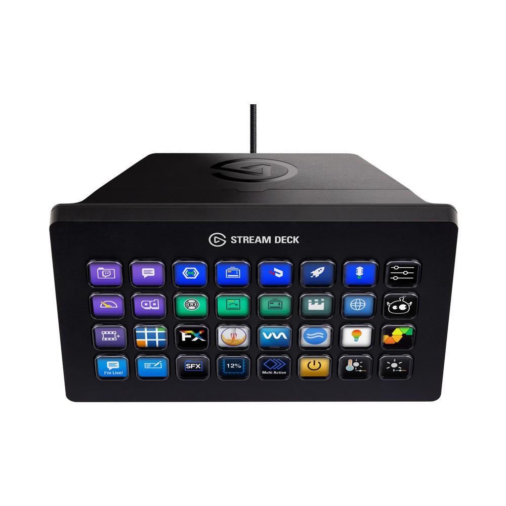 Thiết Bị Stream ELGATO Gaming Stream Deck XL 32 Phím Lập Trình 10GAT9901