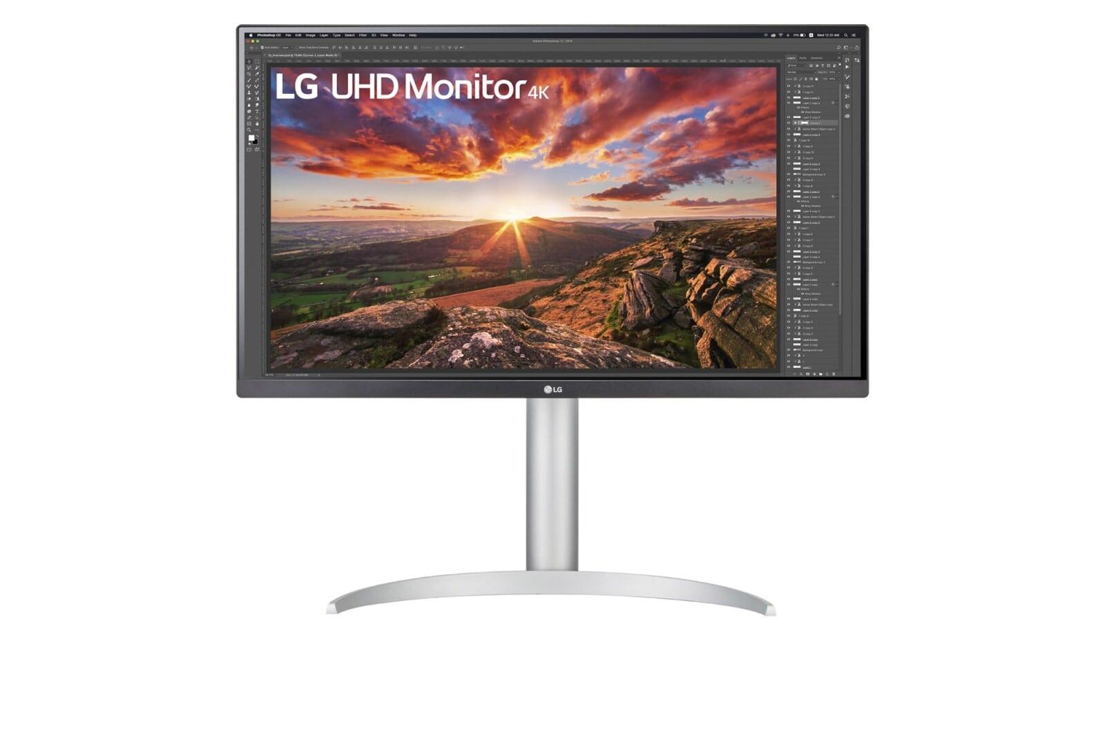 Màn hình LG 27UP850-W - 27'' UHD 4K IPS USB-C