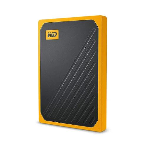 Ổ Cứng Di Động Gắn Ngoài SSD 500GB WD My Passport Go - WDBMCG5000AYT-WESN